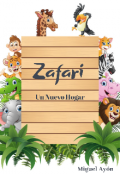 """Cubierta del libro """"Zafarí Un Nuevo Hogar"""""""