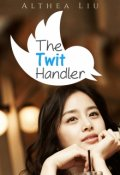 """Book cover """"The Twit Handler"""""""