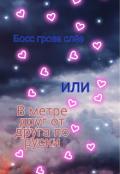 "Обложка книги ""Босс гроза слёз или В метре друг от друга по русски"""