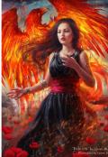 """Обложка книги """"Тёмная дочь светлого феникса"""""""