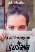 """Cubierta del libro """"La Vorágine de Susana """""""