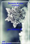 """Cubierta del libro """"Tormenta de nieve"""""""