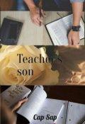 "Book cover ""Сын Учителя"""