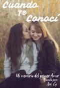 """Cubierta del libro """"Cuando Te Conocí"""""""