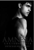 """Cubierta del libro """"Amnesia: La Ciudad Roja """""""