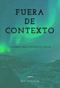 """Cubierta del libro """"Fuera de contexto"""""""