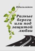 """Обложка книги """"Разные берега или под защитой любви"""""""