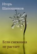 """Обложка книги """"Если снежинка не растает"""""""