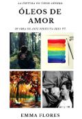 """Cubierta del libro """"Óleos de amor"""""""