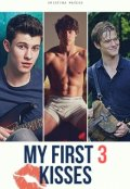 "Cubierta del libro ""My first 3 kisses"""