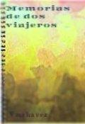 """Cubierta del libro """"Memorias de dos viajeros"""""""