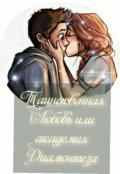 """Обложка книги """"Таинственная любовь или академия Диамонтеза"""""""