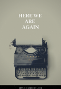 "Book cover ""Here We Are Again"""