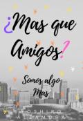 """Cubierta del libro """"mas que amigos"""""""