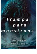 """Cubierta del libro """"Trampa para monstruos"""""""