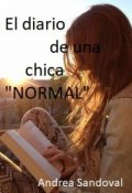 """Cubierta del libro """"El diario de una chica """"Normal"""""""""""