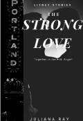 """Обложка книги """"Сильная любовь"""""""