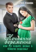 "Обложка книги ""Нечаянно беременна, или Не ходите, девки, в тёмную подсобку"""