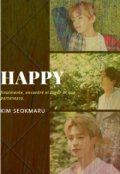 """Cubierta del libro """"Happy"""""""