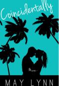 """Book cover """"Coincidentally """""""