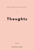 """Book cover """"Thoughts"""""""