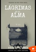 """Cubierta del libro """"Lágrimas en el Alma"""""""