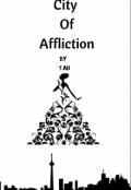 """Book cover """"City Of Affliction"""""""