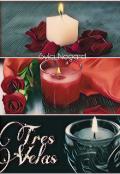 """Cubierta del libro """"Tres Velas"""""""