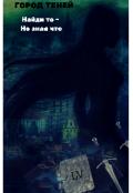 """Обложка книги """"Город Теней.Найди то - не зная что."""""""