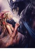 """Обложка книги """"Ледяная любовь для демона """""""