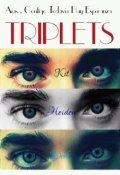 """Cubierta del libro """"Triplets"""""""