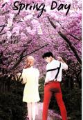"""Cubierta del libro """"Spring day """""""
