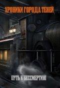 """Обложка книги """"Хроники Города Теней. Путь к бессмертию"""""""
