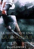 """Cubierta del libro """"La Historia de una guerrera: El Reino Escondido"""""""