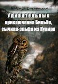 """Обложка книги """"Удивительные приключения Бильбо, сычика-эльфа из Кунира"""""""