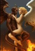 """Cubierta del libro """"Un ángel en la iglesia y  un demonio en la cama"""""""
