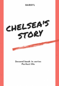 """Book cover """"Chelsea's story"""""""