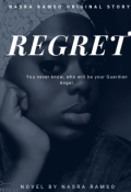 "Book cover ""Regret"""