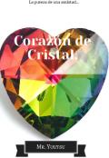 """Cubierta del libro """"Corazón de Cristal. """""""