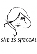 "Book cover ""She Is Special """