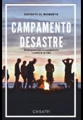 """Cubierta del libro """"Campamento Desastre"""""""