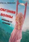 """Обложка книги """"Обгоняя волны: пешком от цунами"""""""