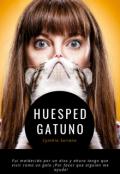"""Cubierta del libro """"Huesped Gatuno"""""""
