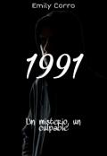 """Cubierta del libro """"1991"""""""