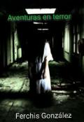 """Cubierta del libro """"Aventuras en terror"""""""