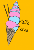 "Book cover ""(sweets anthology) Waffle Cones"""
