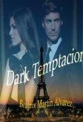 """Cubierta del libro """"Dark temptation """""""