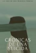 """Cubierta del libro """"Crónicas de una suicida"""""""