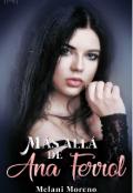 """Cubierta del libro """"Mas allá de Ana Ferrol"""""""