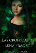"""Cubierta del libro """"Las Cronicas de Lena Pradell"""""""